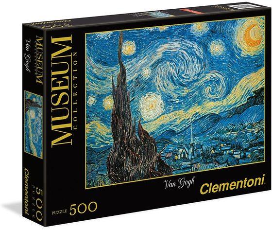 Clementoni 30314 - Puzzle 500 Pezzi - Notte Stellata