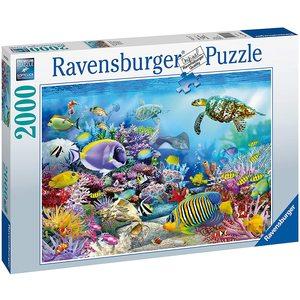 Ravensburger 16704 - Puzzle 2000 Pezzi - Barriera Corallina