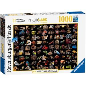 Ravensburger 15983 - Puzzle 1000 pezzi - 99 Splendidi Animali