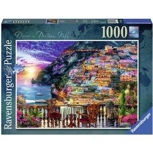 Ravensburger 15263 - Puzzle 1000 Pezzi: Dinner in Positano