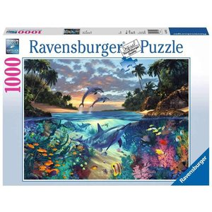 Ravensburger 19145 - Puzzle 1000 Pezzi: Italy Coral bay