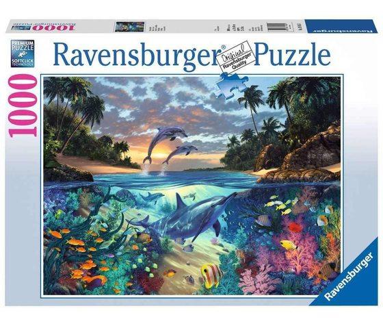 Ravensburger 19145 - Puzzle 1000 Pezzi: Italy Coral bay