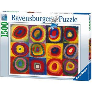 Ravensburger 16377 - Puzzle 1550 pezzi: Kandinsky, Studio sul Colore