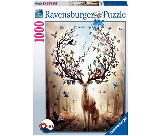 Ravensburger 15018 - Puzzle 1000 Pezzi: Cervo Magico