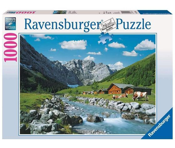 Ravensburger 19216 - Puzzle 1000 Pezzi: Monti Karwendel, Austria