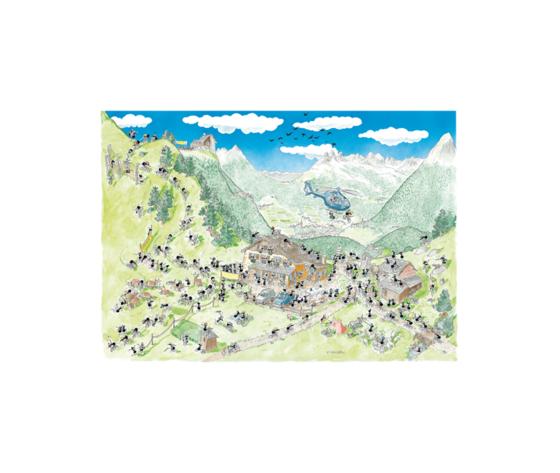 Puzzle 1080 Pezzi: Mountain Bike