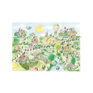 Akena fv2426 - Puzzle 1080 Pezzi: Paese della musica