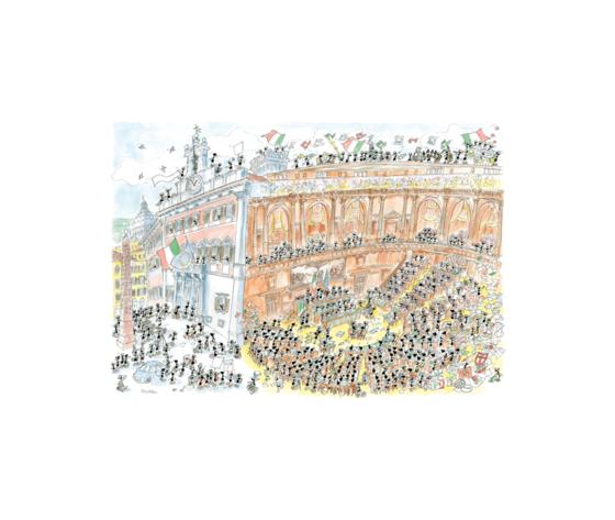 Akena FV2483 - Puzzle 1080 Pezzi: Parlamento