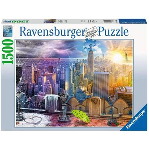 Ravensburger 16008 - Puzzle 1500 Pezzi: Le Stagioni di New York