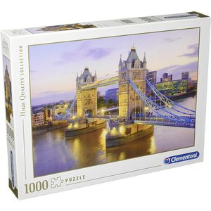 Clementoni 39022 - Puzzle 1000 Pezzi:  Tower Bridge