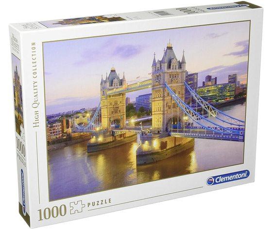 Clementoni 39022 - Puzzle 1000 Pezzi:  Tower Bridge