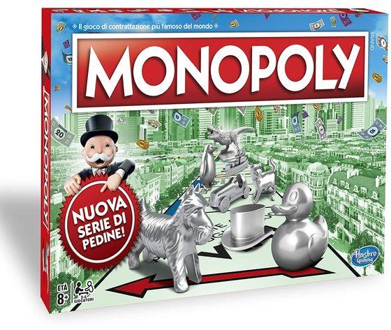 Hasbro C1009 - Monopoly (Classico)