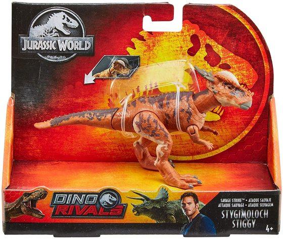 Mattel GCR56 - Dino Rivals:  Stygimoloch Stiggy