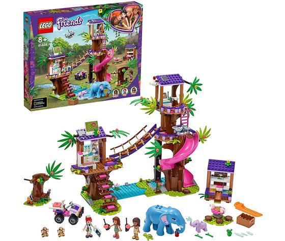 LEGO 41424 - Base di Soccorso Tropicale con Clinica Veterinaria sull'Albero