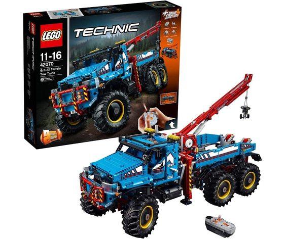 LEGO 42070 - Camion Autogrù