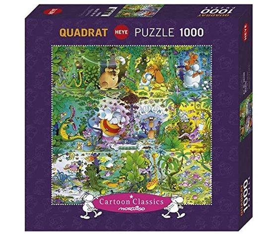 Heye 29799 - Puzzle 1000 Pezzi: Mordillo Wildlife
