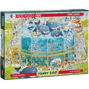 Heye 29777 - Puzzle 1000 Pezzi: Marino Degano, Ocean Habitat