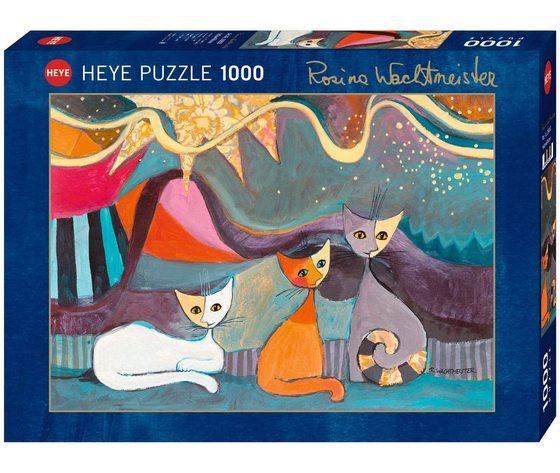 Heye 29853 - Puzzle 1000 Pezzi: Yellow Ribbon