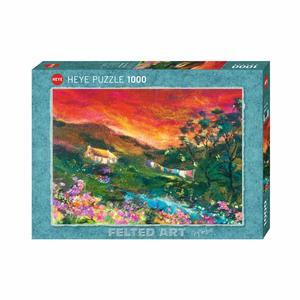 Heye 29916 - Puzzle 1000 Pezzi: Washing Line