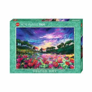 Heye 29917 - Puzzle 1000 Pezzi: Sundown Poppies