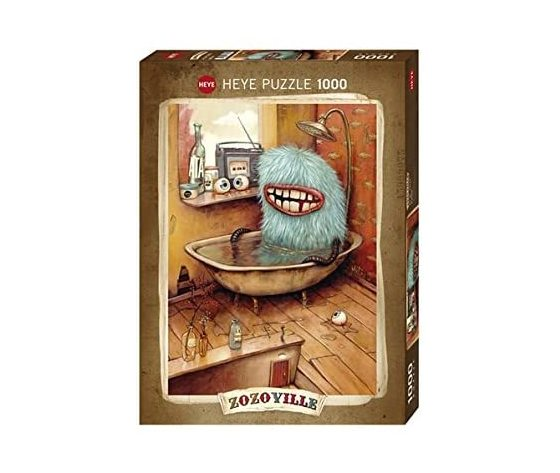 Heye 29539 - Puzzle 1000 Pezzi: Bathtub