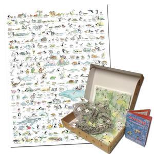 Akena FV2435 - Puzzle 1080 Pezzi: Animali