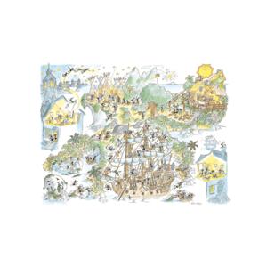 Akena FV2462 - Puzzle 1080 Pezzi: Peter Pan