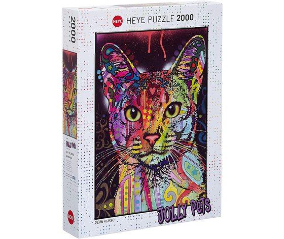 Heye 29810 - Puzzle 2000 Pezzi: Abyssinian