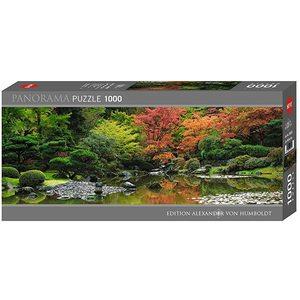 Heye 29859 - Puzzle 1000 Pezzi Panorama: Zen Reflection