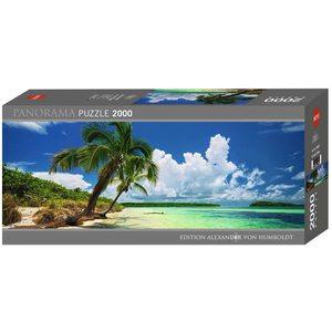Heye 29860 - Puzzle 1000 Pezzi: Paradise Palms