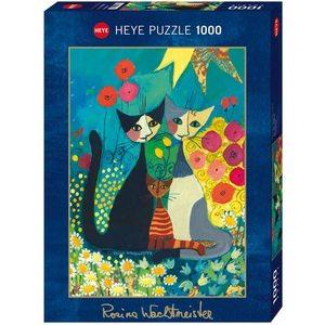 Heye 29616 - Puzzle 1000 Pezzi: Flowerbed
