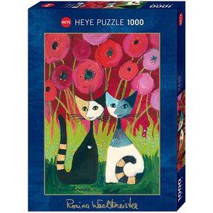 Heye 29900 - Puzzle 1000 Pezzi: Poppy Canopy