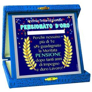 Dor - TARGA Premio PENSIONATO D'ORO