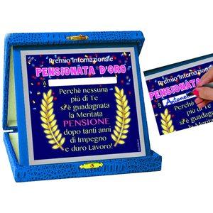 Dor - TARGA Premio PENSIONATA D'ORO