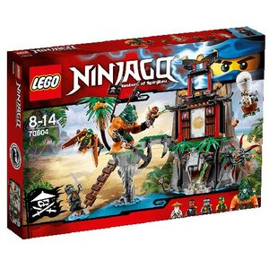 LEGO Ninjago 70604 - Isola di Tiger Widow