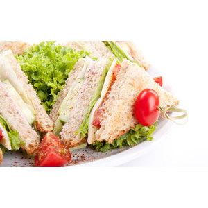 club sandwich, pancarrè decorticato ricette, pancarrè ricette, pancarrè integrale