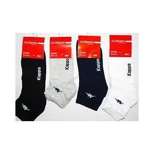 calze corte a caviglia cotone elastico KAPPA 6 PEZZI
