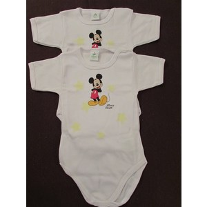 BODY  BIMBO DISNEY  IN COTONE GARZATO 2 PZ ART BYD11M  MEZZA MANICA