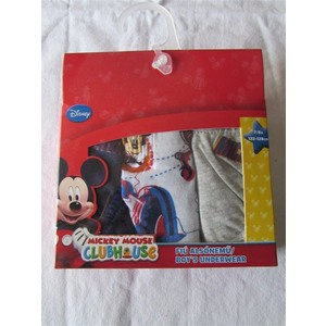 SLIP BIMBO DISNEY MICKEY MOUSE IN COTONE 3 PZ