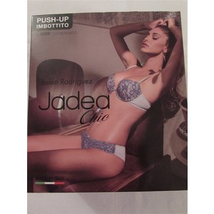 COMPLETINO PUSH UP IMBOTTITO+ SLIP JADEA LINEA CHIC ART. 4569