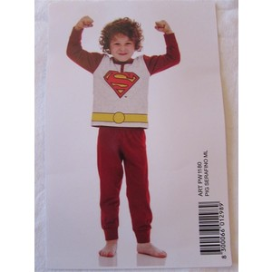 Pigiama bimbo SUPERMAN in cotone
