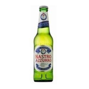 BIRRA NASTRO AZZURRO - confezione 24 bottiglie da 33cl