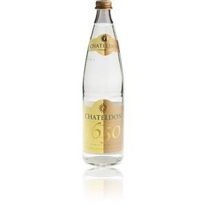 ACQUA CHATELDON effervescente - confezione 12 bottiglie da 75cl