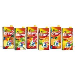 SUCCHI DI FRUTTA BRAVO - confezione 6 bricks da 200 cl