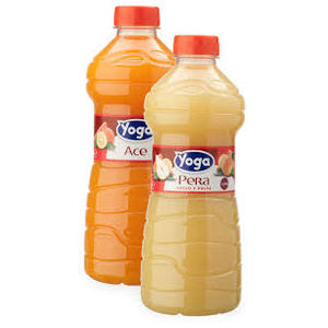 SUCCHI DI FRUTTA YOGA - confezione  6 bottiglie da 100 cl