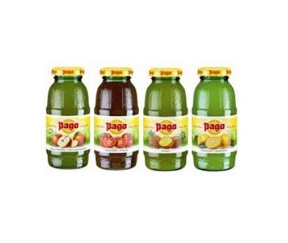 SUCCHI DI FRUTTA PAGO  - confezione xx bottiglie da xx cl