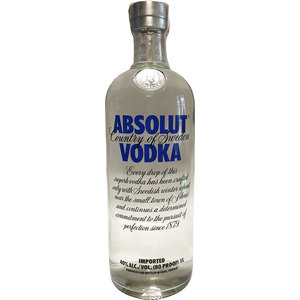 VODKA ABSOLUT 1 lt