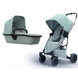 PASSEGGINO E NAVICELLA PER NEONATI QUINNY DUO ZAPP FLEX PLUS FROST ON GREY