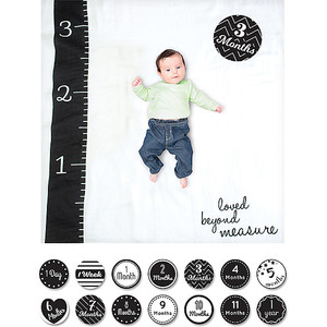 KIT COPERTINA SWADDLES + 14 CARDS, LOVED BEYOND MEASURE