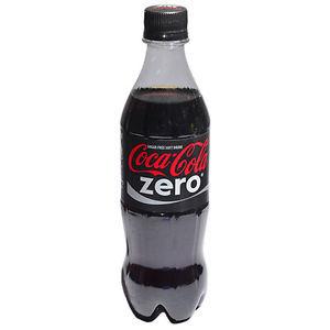 Coca-cola zero bottiglia
